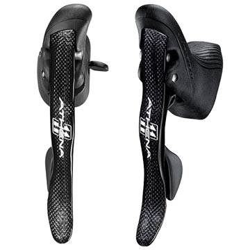 Campagnolo Athena Ergopower Shift/Brake Levers (Carbon)