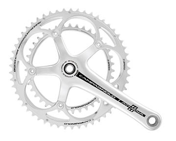 Campagnolo Athena Power-Torque Crankset (53/39) Color: Bright Silver