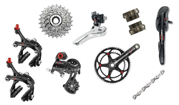 Campagnolo Centaur Carbon 10-Speed Components Kit
