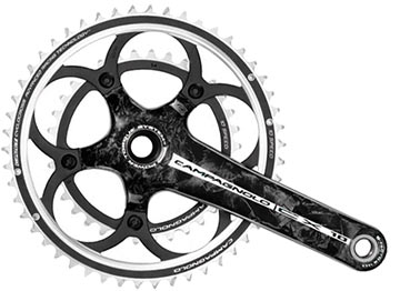 Campagnolo CX 10 Carbon Power-Torque Crankset (46/36)