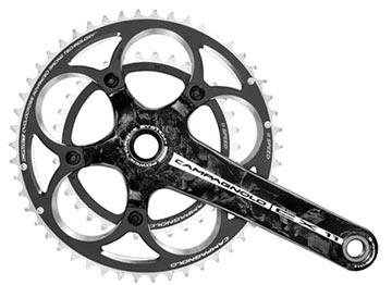 Campagnolo CX 11 Carbon Power-Torque Crankset (46/36)