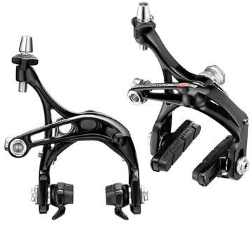 Campagnolo Record-D Skeleton Brake Calipers (Front: Dual-Pivot; Rear: Mono-Pivot)