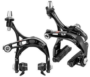 Campagnolo Super Record Skeleton Brake Calipers (Front and Rear: Dual-Pivot)