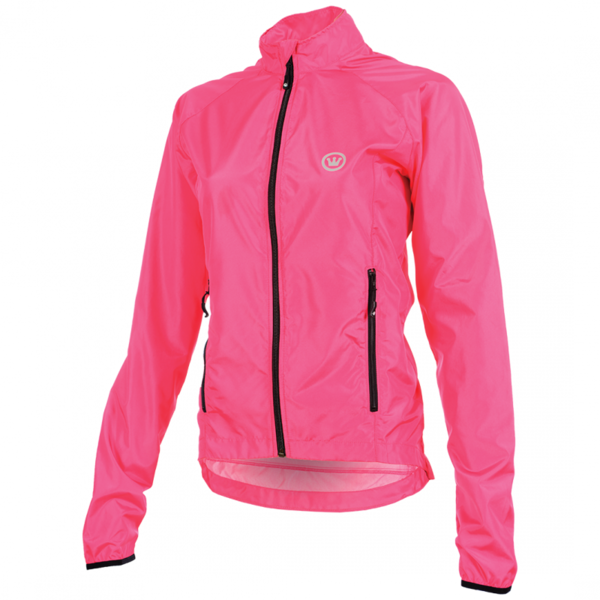 Canari W's Breezer Shell Jacket Color: Panther Pink