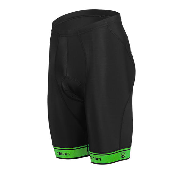 Canari Exert Short Color: Ecto Green