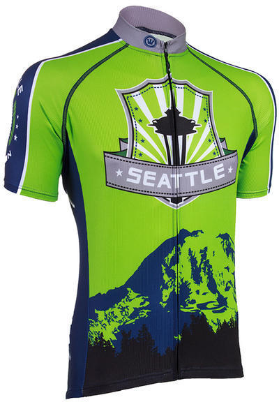 Canari W's Seattle Jersey Image differs from actual product