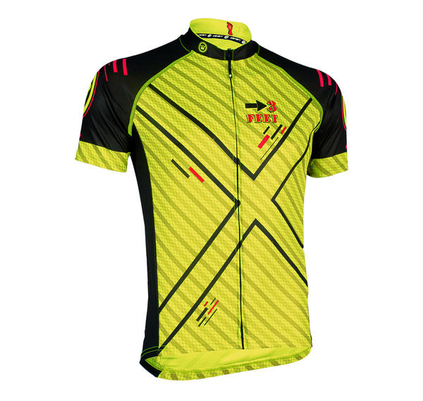 Canari STR Jersey Color: Killer Yellow