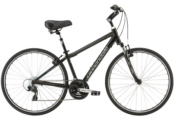 Cannondale Adventure 2 Color: Black Coffee w/Fine Silver