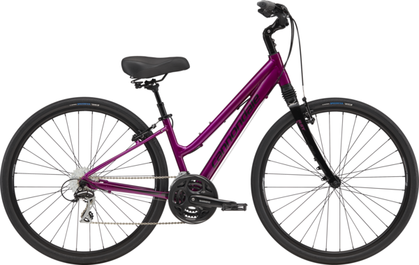 Cannondale Adventure Women's 1 Color: Deep Purple w/Jet Black and Graphite