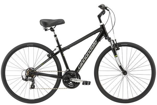 Cannondale Adventure 3 Color: Jet Black w/Magnesium White
