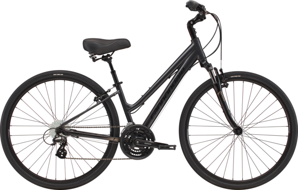 Cannondale Adventure Women's 2 Color: Graphite w/Meteor Gray and Black Pearl