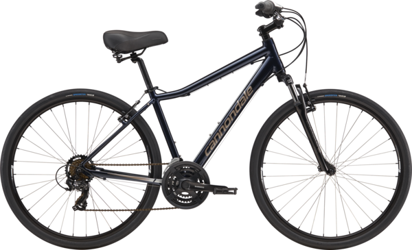 Cannondale Adventure 3 (f24) Color: Midnight/Meteor Gray/Fine Silver