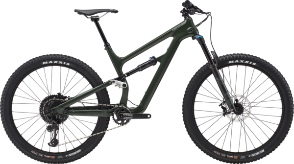 Cannondale Bad Habit Carbon 1 Color: Green Clay w/Sage Gray and Jet Black