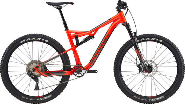 Cannondale Bad Habit 3 Color: Acid Red