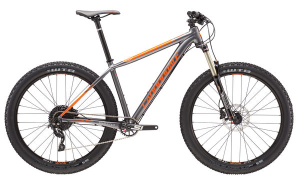 Cannondale Beast of the East 3 Color: Charcoal Grey/Acid Orange