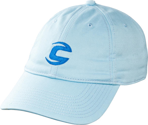 Cannondale C-Logo Baseball Hat Color: Light Blue
