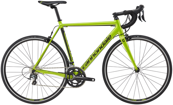 Cannondale CAAD Optimo Tiagra Color: Acid Green