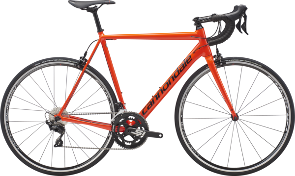Cannondale CAAD12 105 Color: Acid Red/Black Pearl/Fine Silver