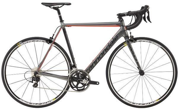 Cannondale CAAD12 105 Color: Gray/Jet Black/Acid Red