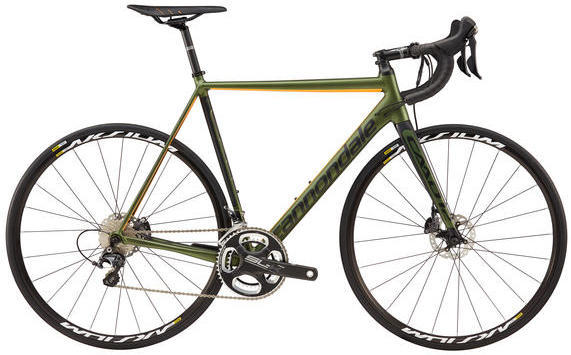 Cannondale CAAD12 Disc Ultegra Color: Vulcan Green