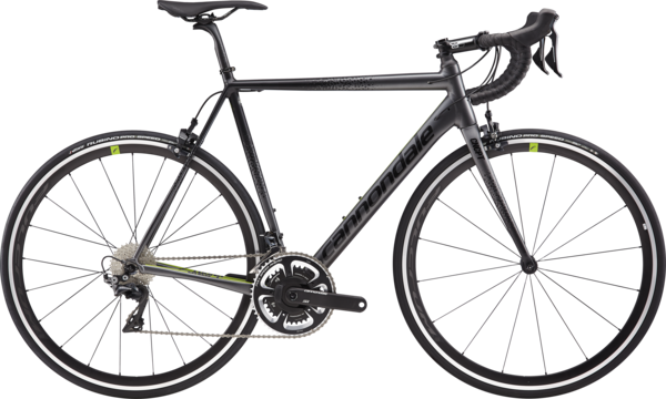 Cannondale CAAD12 Dura-Ace Color: Stealth Gray w/Black Pearl and Acid Green