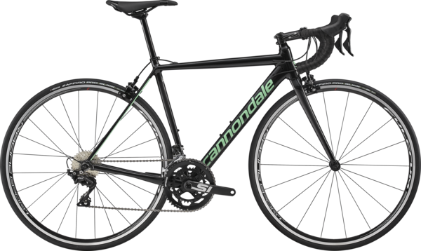 Cannondale CAAD12 Women's 105 Color: Black Pearl w/Grpahite and Mint