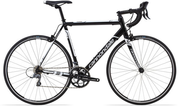 Cannondale CAAD8 Claris 8 Color: Jet Black/Magnesium White