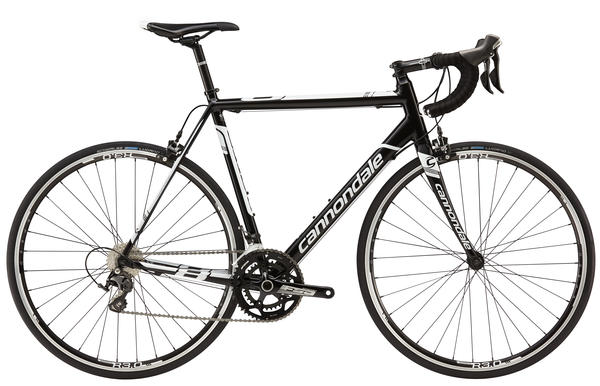 Cannondale CAAD8 105 Color: Jet Black w/Magnesium White