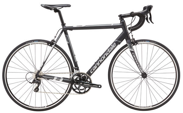 Cannondale CAAD8 Sora 7 Color: Jet Black/Charcoal Gray