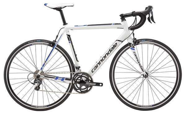 Cannondale CAAD8 Tiagra 6 Color: Magnesium White w/Jet Black