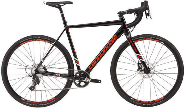 Cannondale CAADX Apex 1 Color: Jet Black/Acid Red