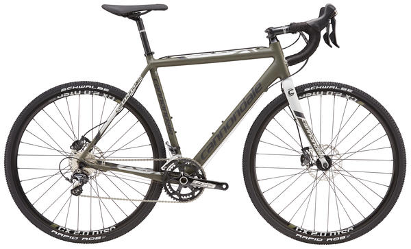 Cannondale CAADX Ultegra Color: Green Clay/Jet Black/Primer Gray