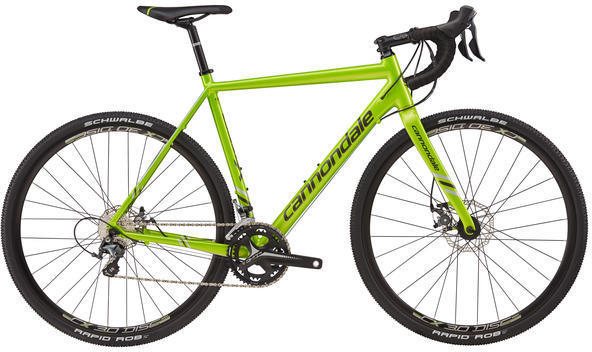 Cannondale CAADX Tiagra Color: Acid Green