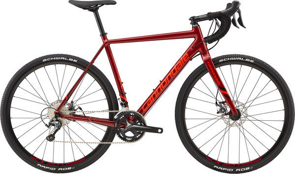 Cannondale CAADX Tiagra Color: Fire Red