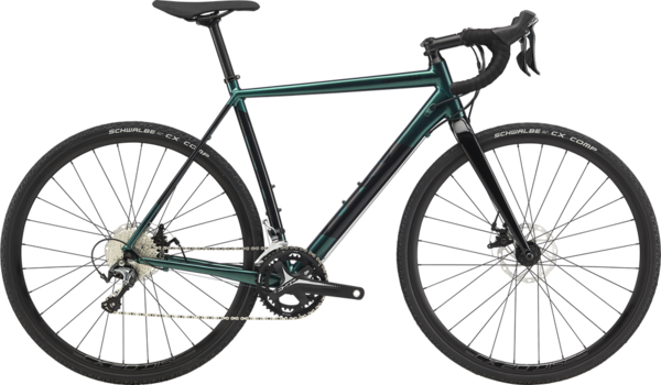 Cannondale CAADX Tiagra Color: Emerald