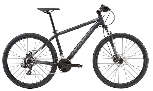 Cannondale Catalyst 4 Color: Jet Black w/ Charcoal Grey, Matte