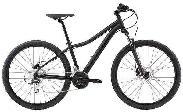 Cannondale Foray 2 Color: Matte Jet Black/Gloss Jet Black