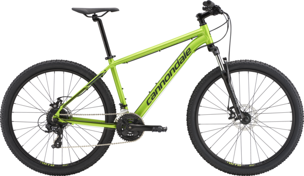 Cannondale Catalyst 3 Color: Acid Green w/Green Clay and Vulcan