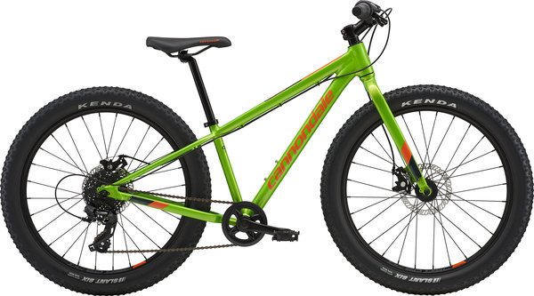 Cannondale Cujo 24 Color: Acid Green