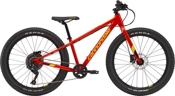 Cannondale Cujo 24 LTD Color: Acid Red/Jet Black/Hot Yellow