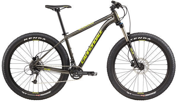 Cannondale Cujo 3 Color: Anthracite/Jet Black/Neon Spring