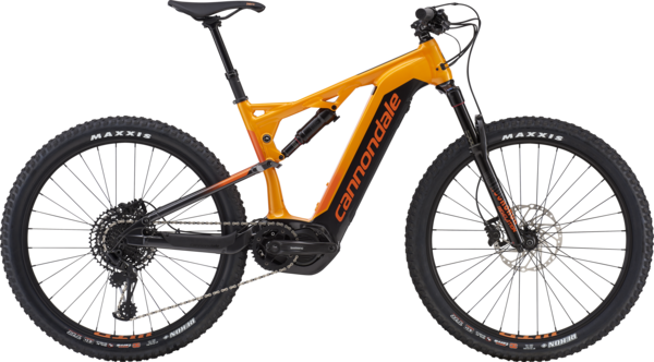 Cannondale Cujo NEO 130 2 Color: Tangerine/Graphite/Hazard