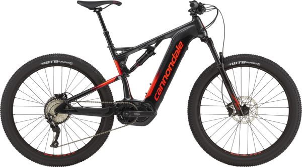 Cannondale Cujo NEO 130 4 Color: Graphite w/Pearl Black and Acid Red