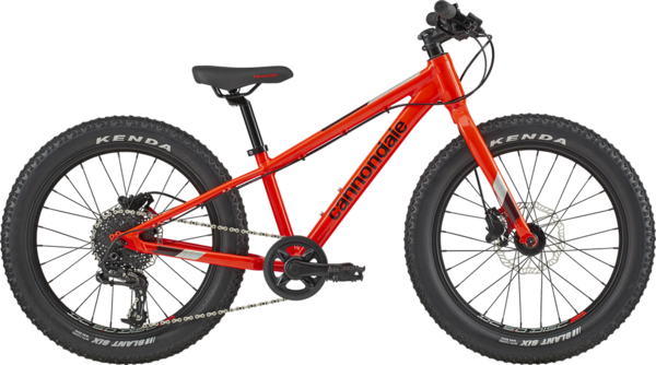 Cannondale Cujo Race 20+ Color: Acid Red
