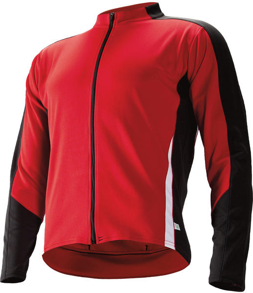 Cannondale Domestique Long Sleeve Jersey Color: Emperor Red