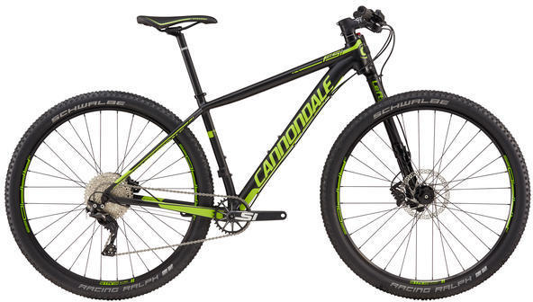 Cannondale F-Si 1 Color: Jet Black/Berzerker Green