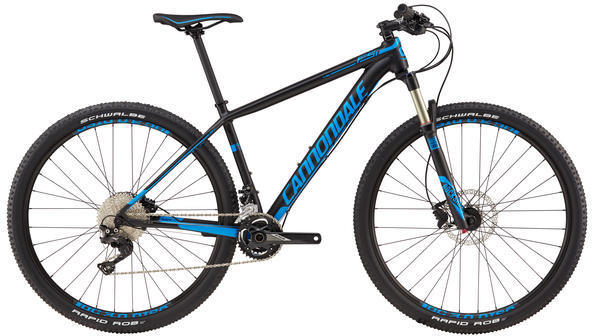 Cannondale F-Si 3 Color: Matte Jet Black/Gloss Ultra Blue