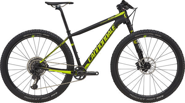 Cannondale F-Si Carbon 1 Color: Jet Black/Volt