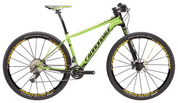 Cannondale F-Si Hi-MOD 1 Color: Berzerker Green w/Jet Black, Cdale Yellow