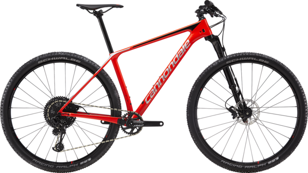 Cannondale F-Si Carbon 3 (i30) Color: Acid Red